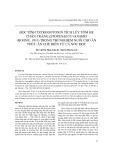Độc tính tetrodotoxin tích lũy tôm he chân trắng litopenaeus vanamei (boone, 1931) trong thí nghiệm nuôi cho ăn thức ăn chế biến từ cá nóc độc