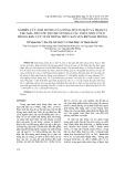 Nghiên cứu ảnh hưởng của nồng độ cơ chất và trạm vị thu mẫu đến tốc độ chuyển hoá các chất nitơ vô cơ trong khu vực nuôi trồng thuỷ sản ven biển Hải Phòng
