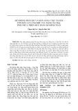 Mô phỏng phân bố và khả năng chịu tải đối với chất lơ lửng khu vực đầm  Cầu Hai - tỉnh Thừa Thiên Huế bằng mô hình toán