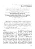 Nghiên cứu sử dụng dữ liệu các axit béo trong phân loại hoá học thực vật (chemotaxonomy) đối với các loài rong đỏ