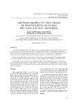 Góp phần nghiên cứu thực trạng hệ sinh thái rừng ngập mặn Phù Long (Cát Hải - Hải Phòng)