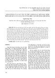 Ảnh hưởng của các yếu tố thủy động lực đến đặc điểm phân bố bùn cát lơ lửng vùng biển ven bờ sông Mê Kông