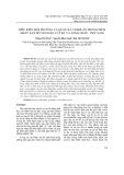 Điều kiện môi trường và quần xã vi khuẩn trong dịch nhầy san hô ven đảo Cát Bà và Long Châu, Việt Nam