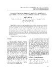 Ứng dụng mô hình mike 21/3 FM couple nghiên cứu quá trình vận chuyển trầm tích tại vịnh Cam Ranh
