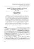 Nghiên cứu đặc điểm cảnh quan các đảo nổi san hô quần đảo Trường Sa