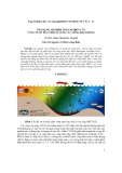 Ứng dụng mô hình toán nghiên cứu vùng nước đục nhất ở vùng cửa sông Bạch Đằng