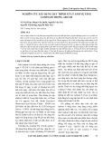 Nghiên cứu xây dựng quy trình xử lý ảnh vệ tinh landsat8 trong arcgis