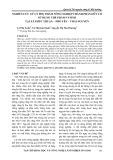 Nghiên cứu xử lý phụ phẩm nông nghiệp thành phần hữu cơ sử dụng chế phẩm vi sinh tại xã Phúc thuận – Phổ Yên – Thái Nguyên