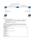 Lab Static oute  proxy ARP - Bài 1a