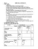 Đề kiểm tra 1 tiết Hình học 7 chương 3 năm 2017-2018 có đáp án - Trường THCS Nguyễn Du