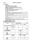 Đề kiểm tra 1 tiết Hình học 7 chương 2 năm 2017-2018 có đáp án - Trường THCS Nguyễn Du