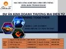Dự án kinh doanh thương mại điện tử Shinning Together