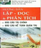 hướng dẫn lập - đọc và phân tích báo cáo tài chính, báo cáo kế toán quản trị: phần 1