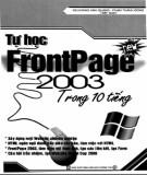 tự học frontpage 2003 trong 10 tiếng: phần 2