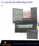 Bài giảng Xử lý hậu kỳ với Adobe Premiere: Bài 5