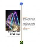 Bài giảng Xây dựng cầu 2 - Đại học Vinh