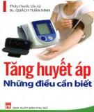 tăng huyết áp - những điều cần biết: phần 1