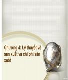 Bài giảng Kinh tế học đại cương: Chương 4 - ThS.Trương Thị Hòa