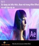 Bài giảng Xử lý kỹ xảo với After Effect: Bài 8