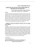 Nghiên cứu độc tính cấp và bán trường diễn của viên nang Giải thử khang GN16