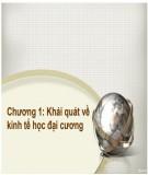 Bài giảng Kinh tế học đại cương: Chương 1 - ThS.Trương Thị Hòa