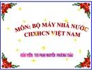 Bài giảng Luật hiến pháp Việt Nam: Bài 4 - ThS. Phan Nguyễn Phương Thảo