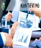Bài tập lớn Kinh tế vĩ mô: Phân tích tình hình cung cầu Cà phê Việt Nam 2007-2017