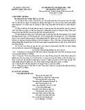 Đề thi học kì 1 môn Ngữ Văn 12 năm 2017-2018 có đáp án - Trường THPT Yên Lạc 2