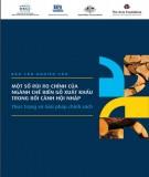 Báo cáo nghiên cứu: Một số rủi ro chính của ngành chế biến gỗ xuất khẩu trong bối cảnh hội nhập