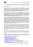 Chương 3.1: Các vấn đề của ngành – Kinh doanh nông nghiệp và an toàn thực phẩm