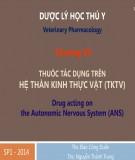 Bài giảng Dược lý học thú y: Chương 7 - ThS. Đào Công Duẩn, ThS Nguyễn Thành Trung