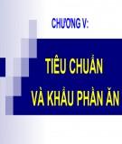 Bài giảng Dinh dưỡng động vật: Chương 5 - TS. Lê Việt Phương