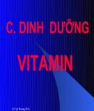 Bài giảng Dinh dưỡng động vật: Chương 1.3 - TS. Lê Việt Phương