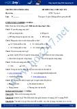 Đề kiểm tra 1 tiết HK 1 môn Tin học lớp 9 - THCS Phong Hòa