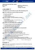 Đề kiểm tra 1 tiết HK 1 môn GDCD lớp 6 - THCS Huỳnh Thúc Kháng