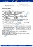 Đề kiểm tra 1 tiết HK 1 môn Địa lí lớp 6 - THCS Phúc Hòa