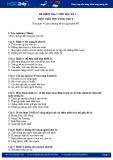Đề kiểm tra 1 tiết HK 1 môn GDCD lớp 8