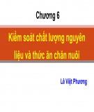 Bài giảng Công nghệ sản suất thức ăn công nghiệp: Chương 5 - TS. Lê Việt Phương