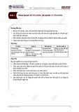 Tổng quan về tổ chức và quản lý - Bài 1
