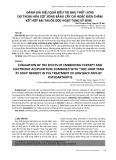 Đánh giá hiệu quả điều trị đau thắt lưng do thoái hóa cột sống bằng cấy chỉ hoặc điện châm kết hợp bài thuốc độc hoạt tang ký sinh