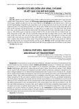 Nghiên cứu đặc điểm lâm sàng, chỉ định và kết quả của mở khí quản