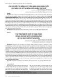Chi phí điều trị bệnh suy thận mạn giai đoạn cuối lọc máu chu kỳ tại bệnh viện quận Thủ Đức