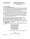 Đề thi học kì 1 môn Ngữ Văn 11 năm 2017-2018 có đáp án - Trường THPT Yên Lạc 2