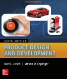 product design and development (6/e): part 2