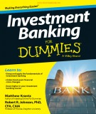 Ebook Investment banking for dummies: Part 2