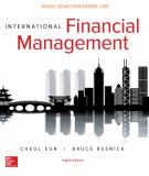 international financial management (8th/e): part 2