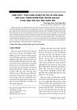 Kiến thức - Thực hành và một số yếu tố liên quan đến thực trạng nhiễm giun truyền qua đất ở học sinh tiểu học tỉnh hưng yên
