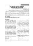 Độc tính cấp của acid gambogic trên động vật thực nghiệm