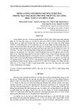 Định lượng 5-hydroxymethylfurfural trong mật ong bằng phương pháp sắc ký lỏng hiệu năng cao (HPLC-DAD)