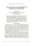 Spectral proper transformation and application to gust response prediction of structures